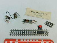 AG772-0,5# TRIX EXPRESS H0/DC Hand-Entkupplungsgleis+Innenbeleuchtung+Motor