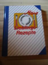 Meine Lieblingsrezepte Eintragbuch neu