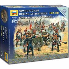 ZVEZDA 6810 French Foot Artillery Napoleonic 1:72 Figures Model Kit