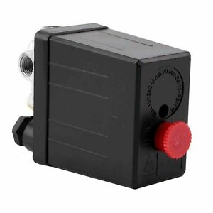 Latest Air Compressor Pump Pressure Switch Control Valve 90 PSI -120 PSI DQ S1