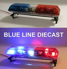 1/18 Flashing LED Dual Level Police Lightbar for Custom Diecast Models ( # 06 )