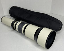 Opteka 1278 650-1300mm HD F/8-16 Telephoto Zoom Lens Canon Mount Exc Condition