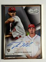 2018 Tyler Mahle RC Topps Gold Label Framed Autograph Reds Auto Card Signed