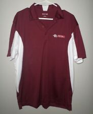 BCSN lrg polo shirt Ohio cable channel Buckeye Cable Sports Network embroidery