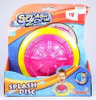 """SIMBA Splash Zone wasserfüllbare Wurfscheibe """"Splash Disc"""" - großer Badespaß!"""