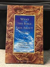 What The Bible Says About Angels by David Jeremiah, New Paperback Study Guide