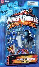 Power Rangers Dino Thunder Blue Quadro-Battlized Ranger New Factory Sealed
