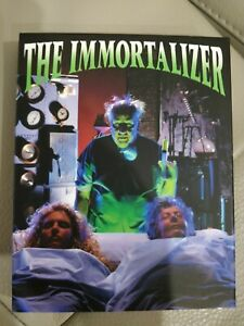 THE IMMORTALIZER (U.S. Release Blu-ray, with LIMITED EDITION SLIPCOVER, 1989)