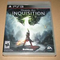 Dragon Age: Inquisition (Sony PlayStation 3) Brand New / Fast Shipping