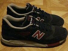 New Balance 998 Made In USA M998MB Men's 11 Navy/Maroon