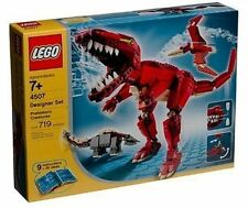 Lego Designer Prehistoric Creatures 4507 Set Sealed Brand New Never Opened