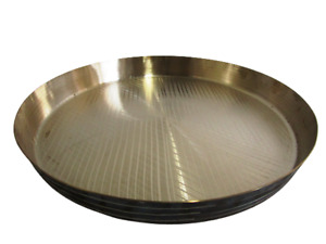 PURE KANSA UTENSILS Bronze DINNER PLATE - Ratio 78 / 22 -  Health (1174)