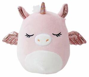 """SQUISHMALLOWS Grecia the Pink Pegasus Unicorn   7"""" Inch   PegaCorn - IN STOCK!"""