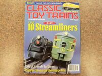 JANUARY 1998 CLASSIC TOY TRAINS MAGAZINE - VOLUME 11 No. 1