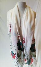 NWT Miss Sparrow London Women Fashion Large Scarf Shawl Wraps Maxi Outwear