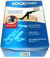 New Sock Slider Aid Helper Easy On & Off Pain Relief Sock Horn As Seen On TV
