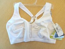 New - Champion Sports Bra - White #CH1697 - Medium Support