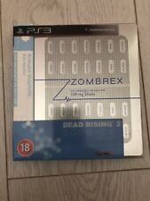Dead Rising 2 Zombrex Edition PS3 PlayStation 3 Video Game Disks Great Condition