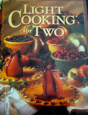 "NEW*NEVER OPENED* ""Light Cooking For Two~OXFORD HOUSE"" HARDCOVER"