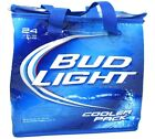 Bud Light Beer Soft Sided Insulated Cooler Pack portable Holds 24 Cans
