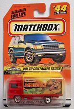 "Matchbox ""Animals"" Volvo Container Truck #44/75 1:64 Scale Diecast"
