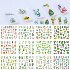 Rick Temporary Tattoos Foil Water Transfer Decals Manicure Nail Art Stickers