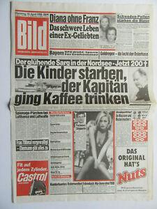 Bild Zeitung 10.04.1990, Patsy Kensit, Wolfgang Fierek,