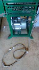 BRAND NEW ,WIRE STRIPPING MACHINE ,ELECTRIC , CHAIN DRIVEN,SAFTEY BUTTON