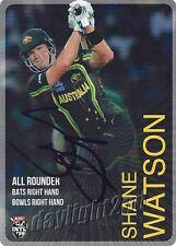 ✺Signed✺ 2014 2015 AUSTRALIAN Cricket Card SHANE WATSON Big Bash League