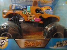 2017 SCOOBY DOO Hot Wheels Monster Jam Truck  1:24th scale The Big One