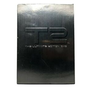 T2 - The Extreme Ultimate Edition (DVD 2000) RARE TIN SLIPCOVER W BOOKLET Ding