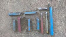 Divers outils de tour à métaux