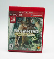 Uncharted Drake's Fortune PS3 Game Complete Tested Free Shipping