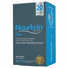 Nourkrin Man 180 Tablets - 3 Months Supply | Hair Preservation 1 2 3 6 12 Packs