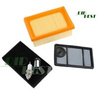 3-Teilig Luftfilter Zündkerze Satz für Stihl TS 400 TS400 Trennschneider Filter