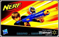 WALMART CHILDREN WARFARE BOY HAS NERF GUN ATTACK #VL11531 COLLECTIBLE GIFT CARD