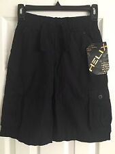 NUEVO hélice naranja para niños, Negro Pantalones cortos ~ Calavera