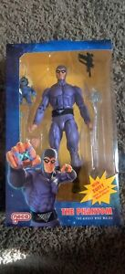 """NECA Defenders Of The Earth The Phantom The Ghost Who Walks 7"""" Figure With Zuffy"""