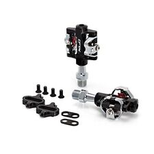 Pair XLC MTB or Any Bike Pedals SPD Double Sided Cleat System With Cleats