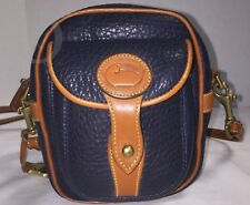 Vintage Dooney & Bourke~AWL~Navy Blue*Camera Bag*Crossbody*18115L S167A