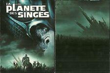 LA PLANETE DES SINGES de TIM BURTON - MARK WAHLBERG / EDITION COLLECTOR 2 DVD