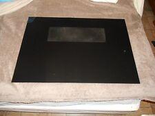 CALORIC  OVEN DOOR GLASS BLACK part # 63650  19 5/8 x 28 5/16 inches