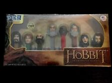 Hobbit An Unexpected Journey PEZ Candy Dispenser Set Limited #'d NEW Toy LOTR