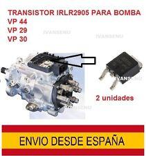 2 x Transistor IRLR2905 reparación bomba inyectora Bosch VP44 VP30 VP29.