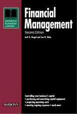 Financial Management (Barron's Business Library) Siegel, Joel G., Shim, Jae K.