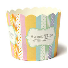 50 Caissettes A Cupcake Papier Pour Muffins Gateau Moule Decoration Mignon Y3