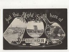 Just The Right Spirit Here At Southsea 1966 RP Postcard 659a