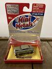51 Chevy Fleetline CMW Mini Metals 1/87 HO scale Diecast NOS