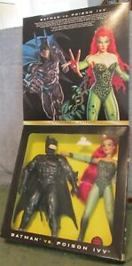 Batman Vs. Poison Ivy Collector's Edition Set In Box~MIB~NRFB~Fully Poseable~WOW