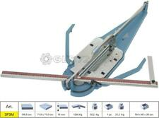 TILE CUTTER MACHINE MANUAL PUSH HANDLE SIGMA 3P3M CUTTING LENGHT 100,5 CM
